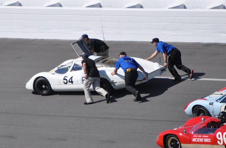 Porsche 907, winner of the 1968 24 Hours of Daytona