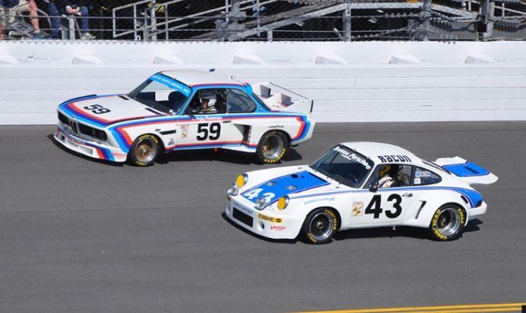 1976 Winner, BMW 3.5 CSL and 1977 Winner, Porsche 911 Carrera RSR