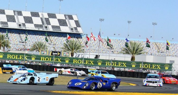 Rolex 24 At Daytona 50th Anniversary Heritage Display (photo: David Ferguson)
