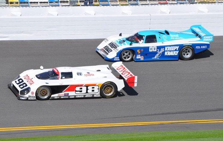 1993 Winner, Eagle-Toyota GTP and 1984 Winner, March-Porsche 83G