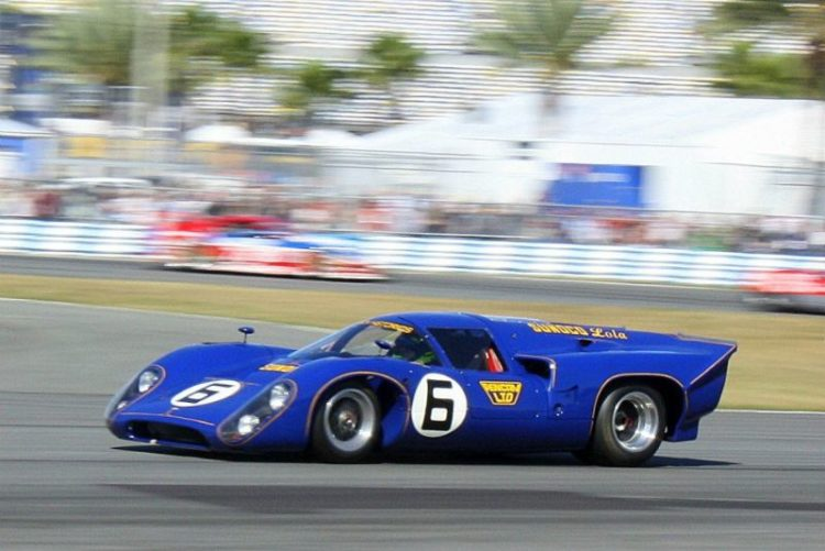Sunoco Penske Lola T70 Mk3B, winner of the 1969 24 Hours of Daytona (photo credit: David Ferguson)