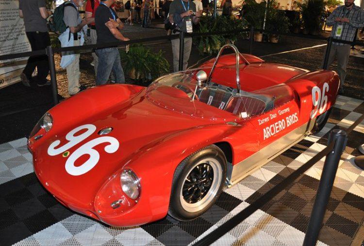 Lotus-Climax 19B, winner of the 1962 Daytona 3-Hour Continental with Dan Gurney