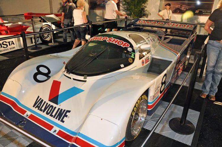 1985 Winner, Porsche 962 of Boutsen, Foyt, Unser and Wollek