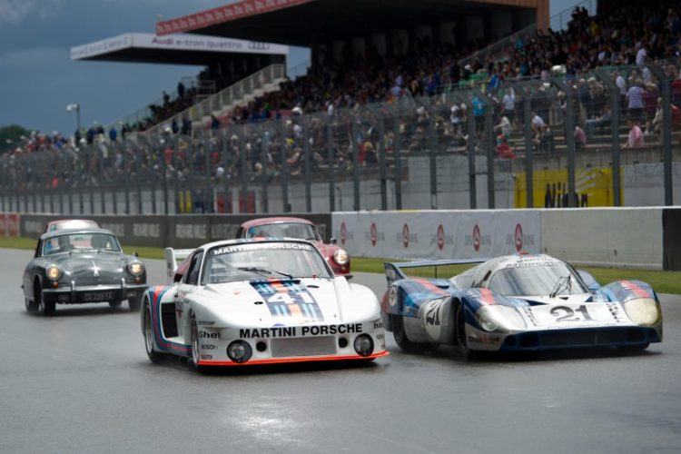 Porsche was represented well at Le Mans Classic 2012