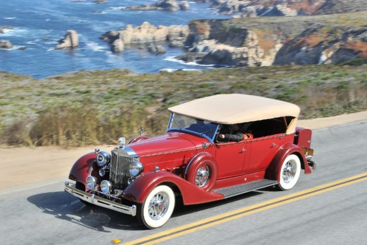 1934 Packard 1104 Super Eight Phaeton