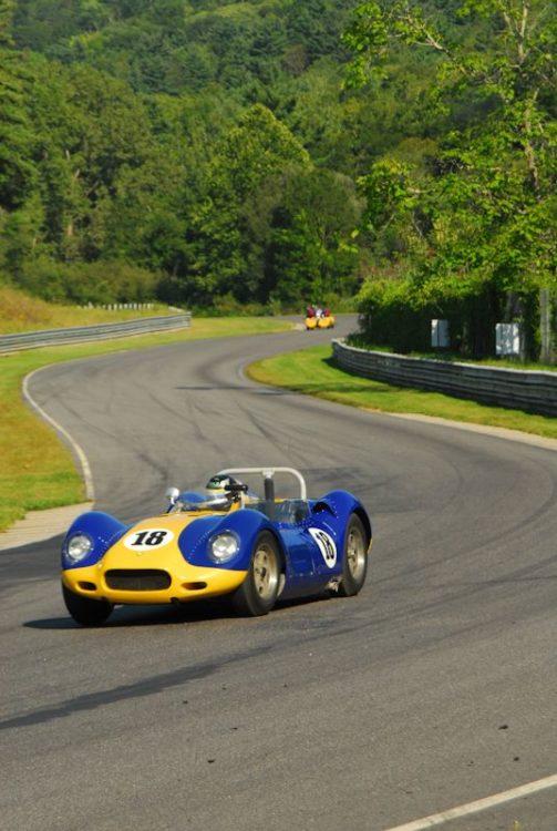 1958 Lister Jaguar- Tom Malloy.