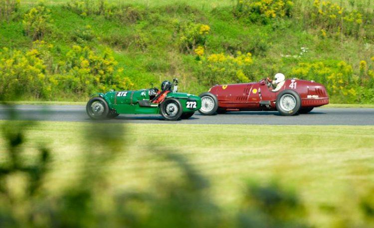 1932 Alta Le Mans- Nick Grewal, #41- 1935 Alfa Romeo 8C35 Peter Greenfield.