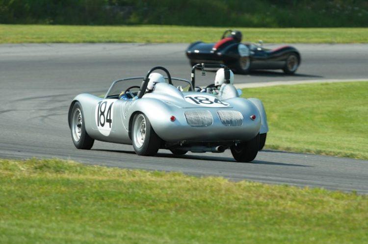 Roger Mandeville- 1960 Porsche RS60.