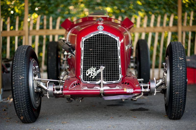 Alfa Romeo Tipo B - Goodwood Revival 2012