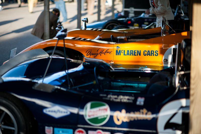 Cars of Dan Gurney Paddock