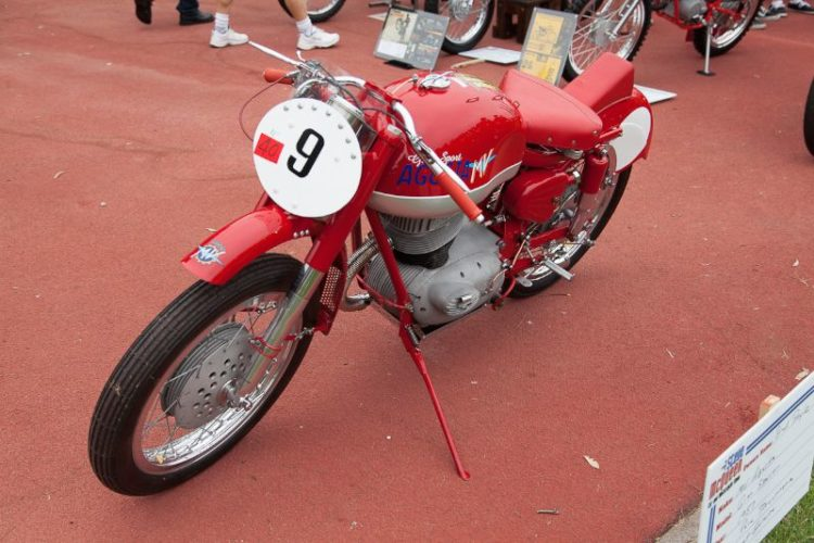 1957 MV Agusta Gran Sport, owned by Brad Boyle.