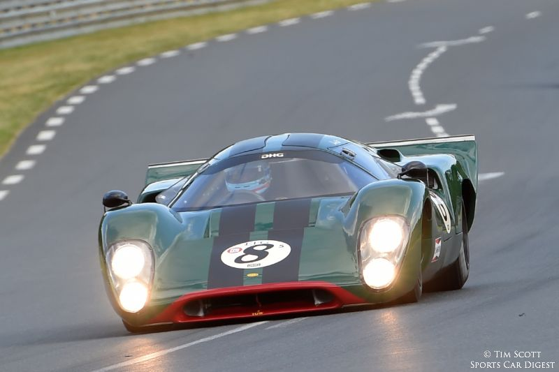 Race winning 1969 Lola T70 Mk IIIB of David Hart