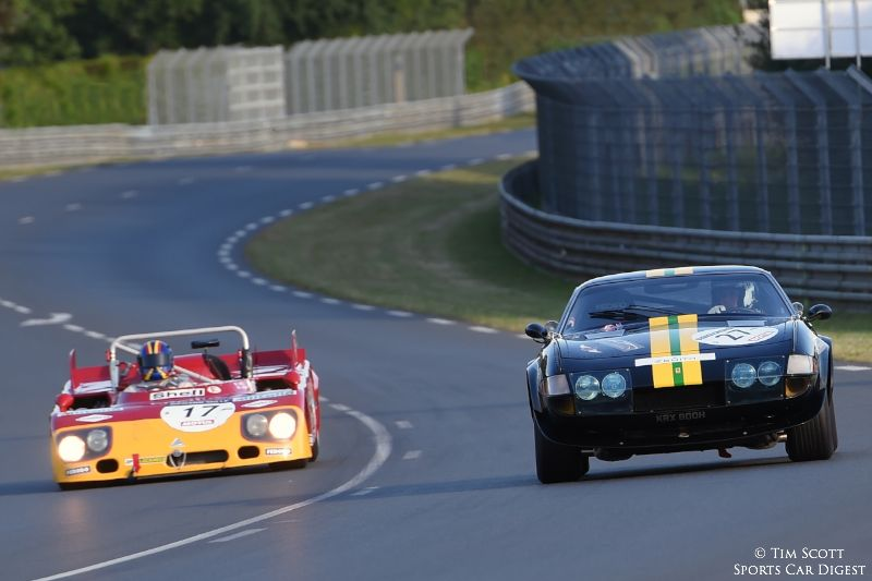 1971 Alfa Romeo 33/TT/3 and 1971 Ferrari 365 GTB/4 Daytona Group IV