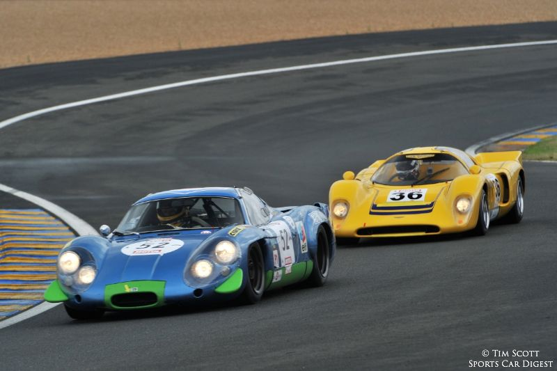 1969 Alpine A 220 and 1970 Chevron B16 FVC