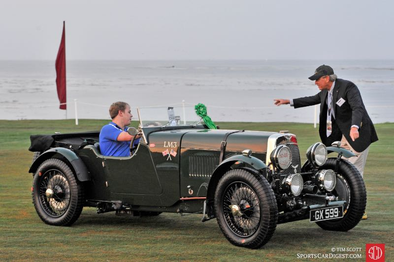 1929 Aston Martin 1.5 Litre LM3 Works Team Car
