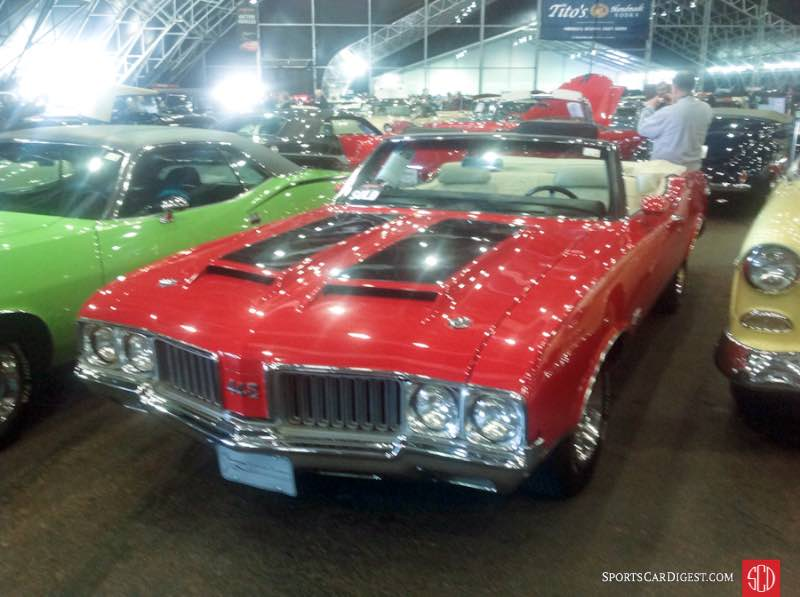 1970 Oldsmobile 4-4-2 Convertible