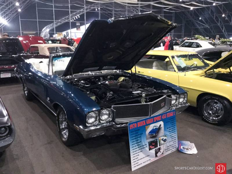 1970 Buick GS 455 Stage I Convertible