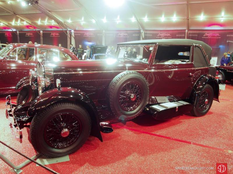 1930 Delage D8 C Cabriolet, Body by Chapron