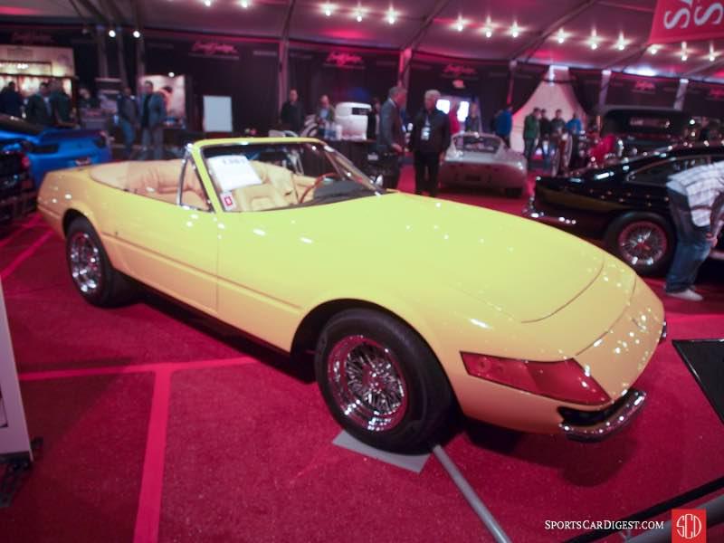 1971 Ferrari 365 GTB/4 Daytona Spider Conversion, Body by Straman