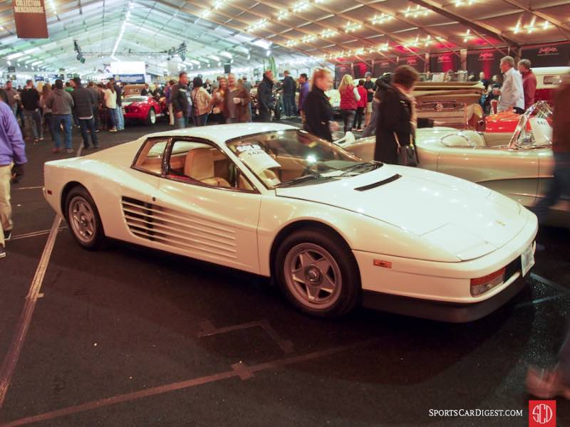 1986 Ferrari Testarossa Miami Vice Car, Body by Pininfarina
