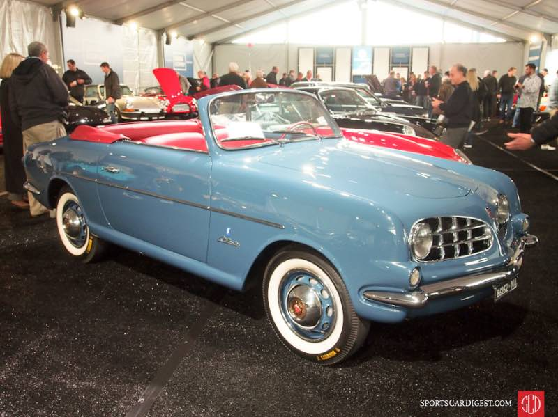 1953 Fiat 1100 Cabriolet, Body by Allemano