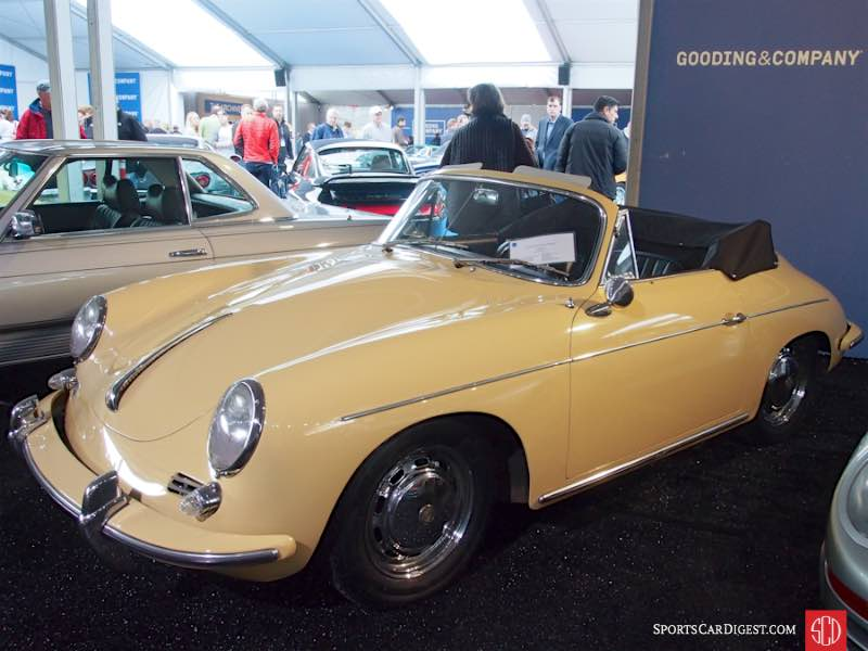 1965 Porsche 356 SC Cabriolet, Body by Reutter