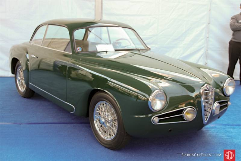 1954 Alfa Romeo 1900C SS Coupe, Body by Touring
