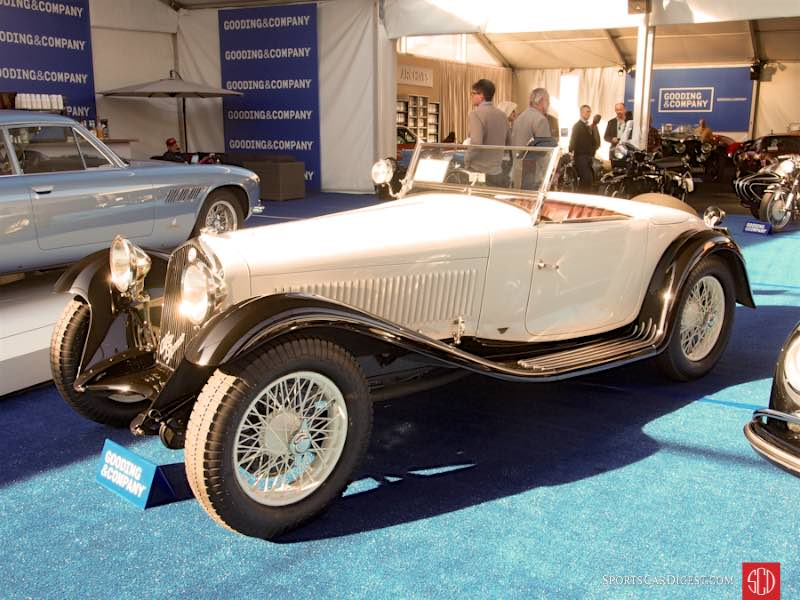 1932 Alfa Romeo 6C 1750 Series V Grand Sport Roadster, Body by Figoni