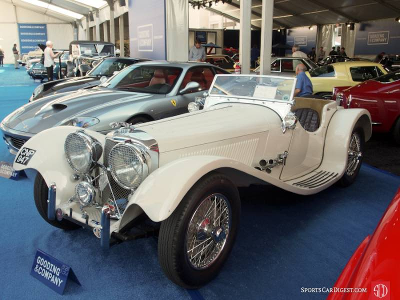 1938 SS Jaguar 100 3 1/2 Litre Roadster