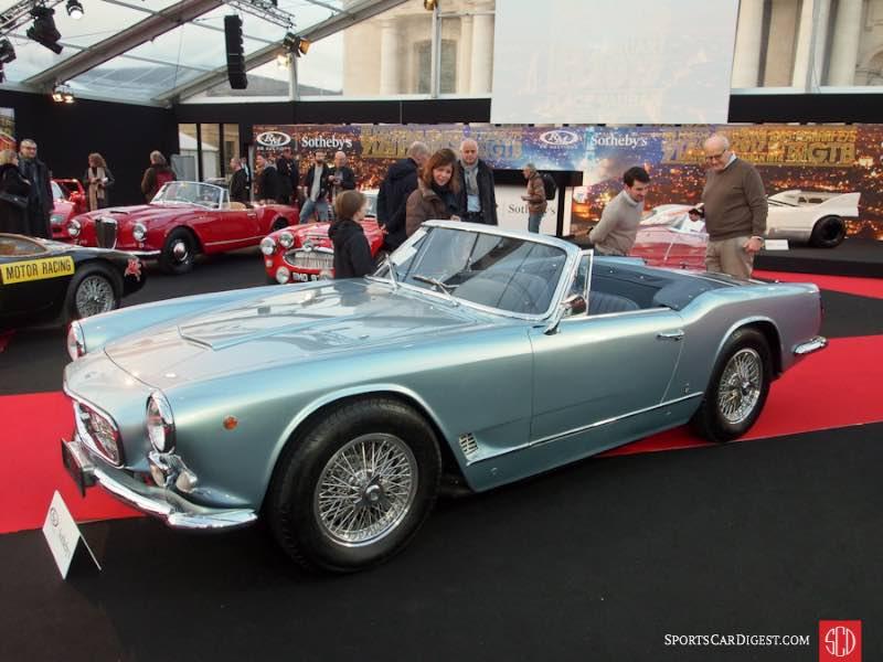 1962 Maserati 3500 GT Spider, Body by Vignale