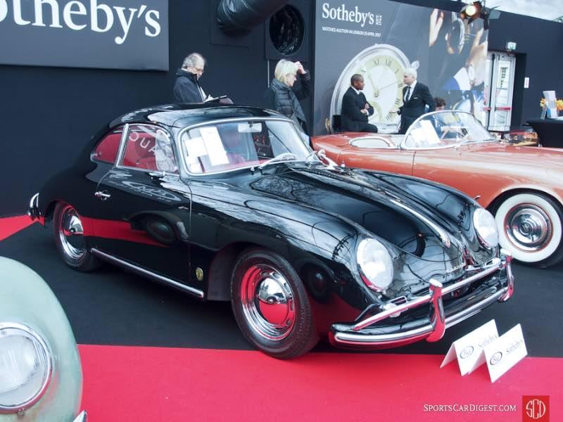 1958 Porsche 356 A 1600 Super Coupe, Body by Reutter