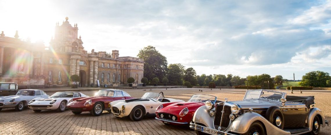 Class Winners at the 2017 Salon Prive Concours d'Elegance
