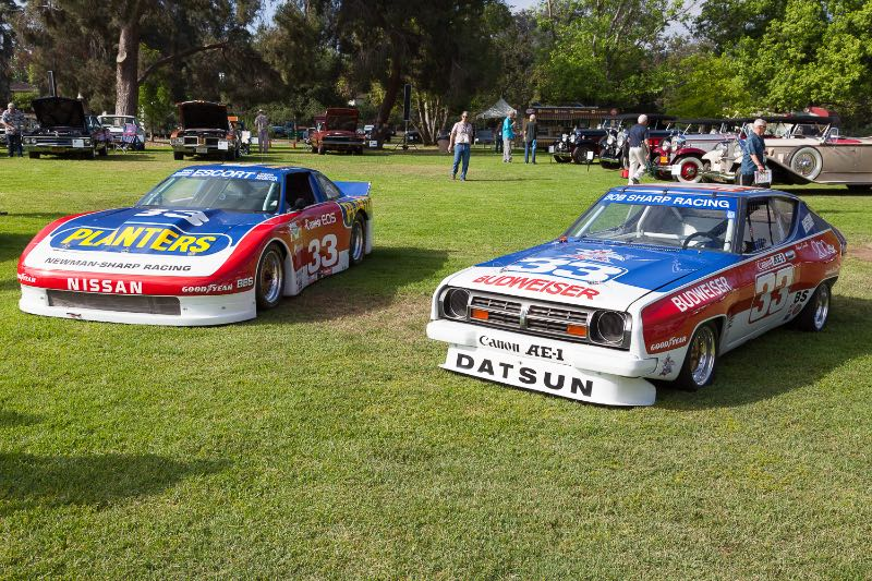 [L-R] 1987 Nissan 300ZX 2+2, 1978-79 Nissan 200SX