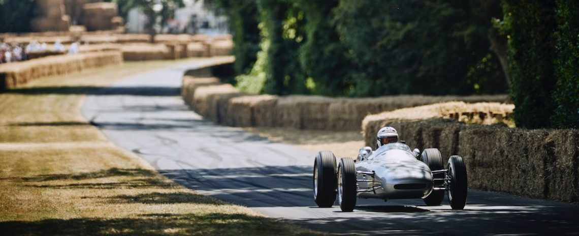 Porsche's only purpose-built F1 car, the 804 (photo: Dominic James)