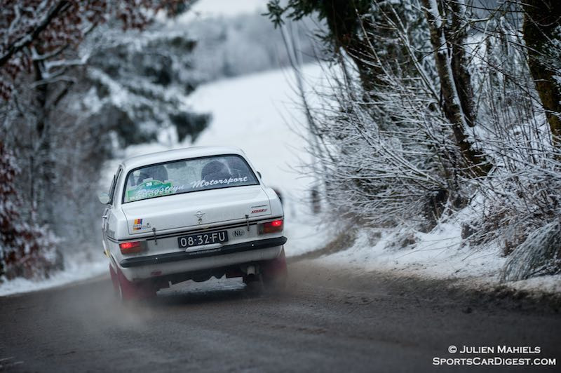 Legend Boucles de Bastogne Rally 2015