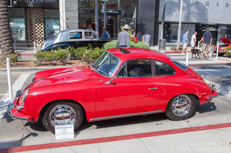 1965 Porsche 356 SC Sunroof Coupe owned by Mercy Hammerstein