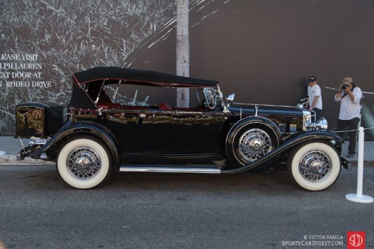1931 Cadillac Fleetwood Sport Phaeton owned by Tony & Lauren Hart