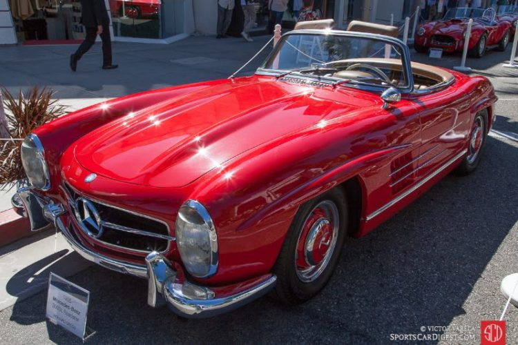 1958 Mercedes Benz 300SL Roadster owned by Howard Green