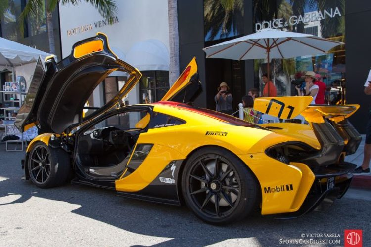 2016 McLaren P1 GTR owned by Andy Cohen