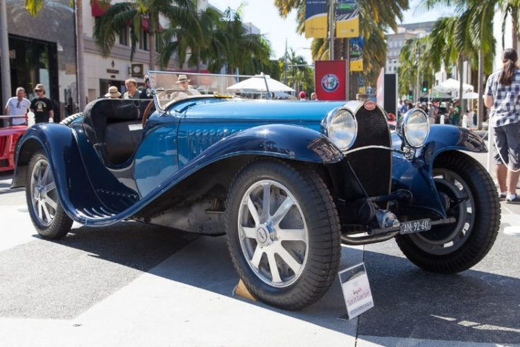 1932 Bugatti Type 55 Super Sport owned by Peter & Merle Mullin
