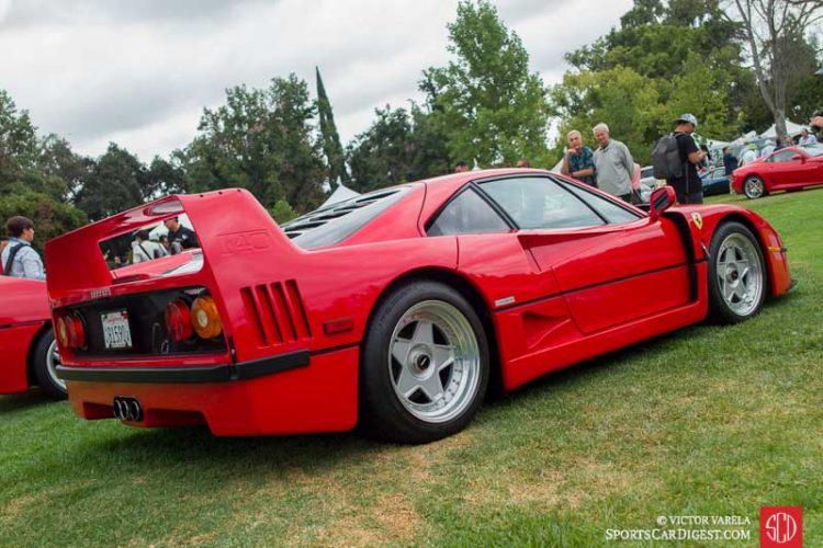 1990 Ferrari F40 owned by David Lee