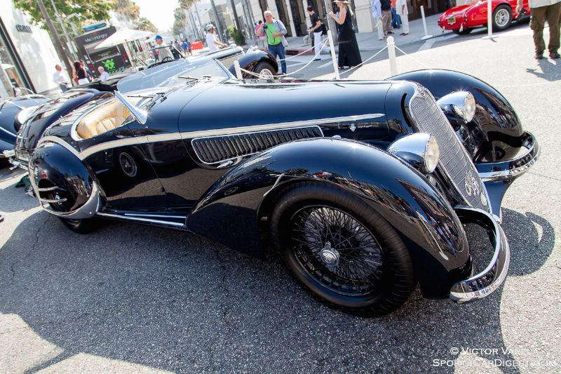 1938 Alfa Romeo 8C 2900B Spyder by Touring owned by Ray Scherr