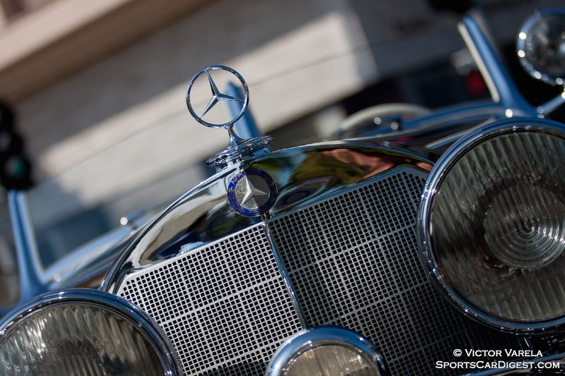 1936 Mercedes Benz 540K Special Roadster owned by Bruce Makowsky