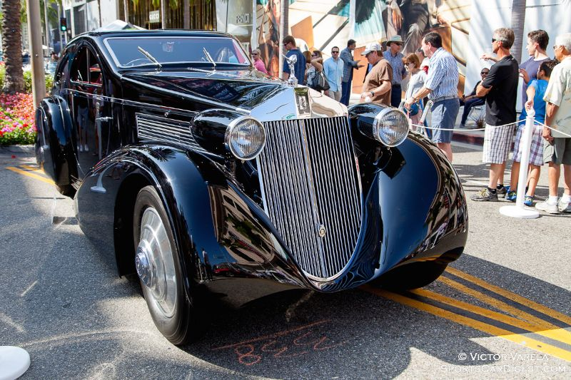 The Petersen Museum's 1925 Rolls-Royce Phantom I Aerodynamic Coupe by Jonckheere