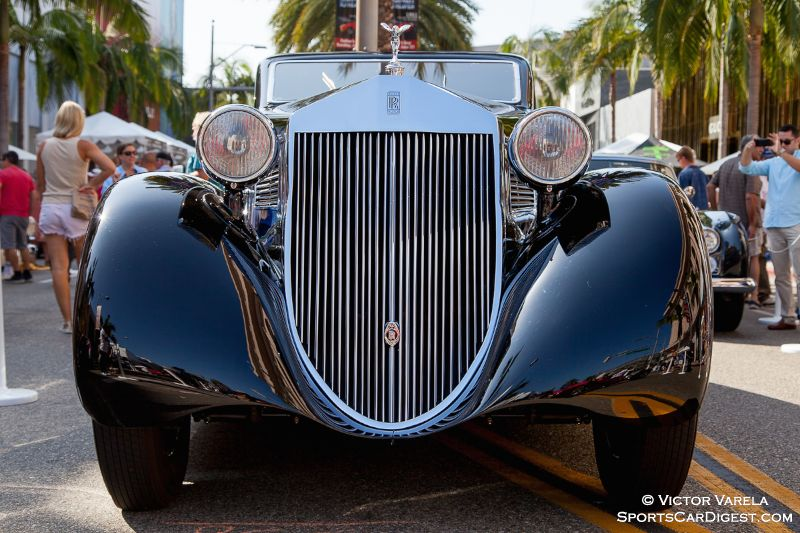 The Petersen Museum's 1925 Rolls-Royce Phantom ! Aerodynamic Coupe by Jonckheere