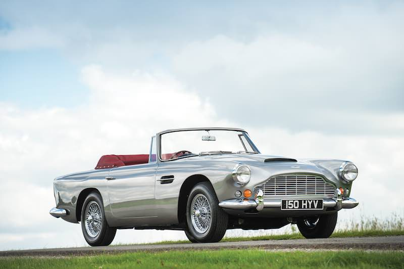 1963 Aston Martin Db4 Series V Convertible Photo Tom Wood Sports Car Digest The Sports Racing And Vintage Car Journal