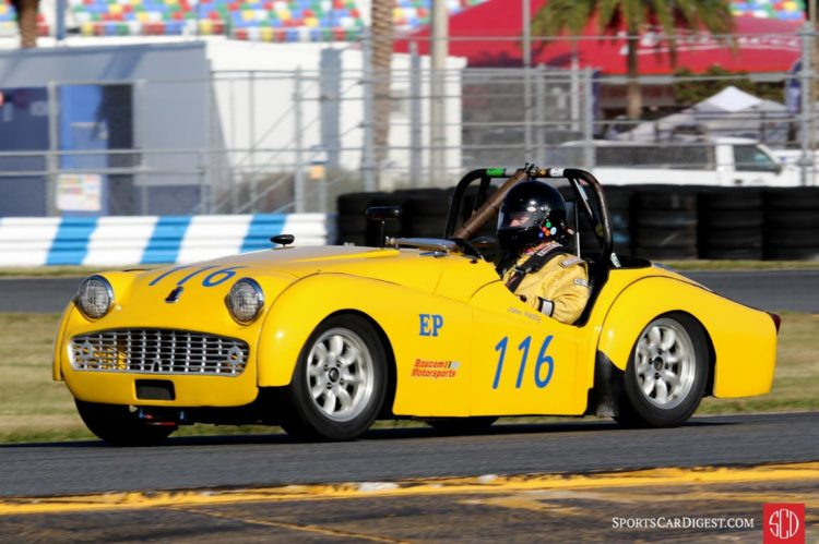 John Hasty, 59 Triumph TR3A