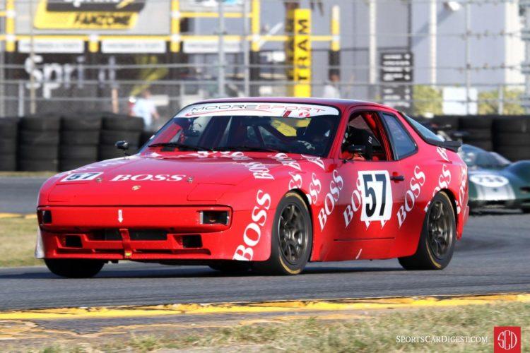 Guy Laporte/Marie Gagne, 86 Porsche 944