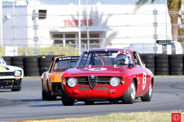 Helen Elstrop, 67 Alfa Romeo GT jr.