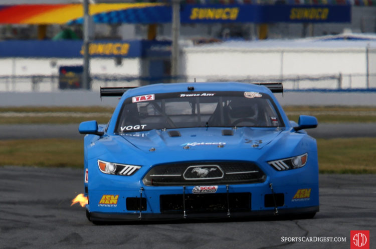 Curt Vogt raced his Mustangs in both HSR and Trans Am.